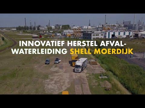 Innovatief Herstel Afvalwaterleiding Shell Moerdijk