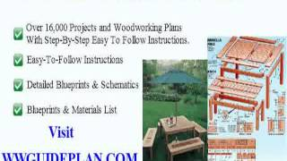 Wooden Garden Furniture Plans