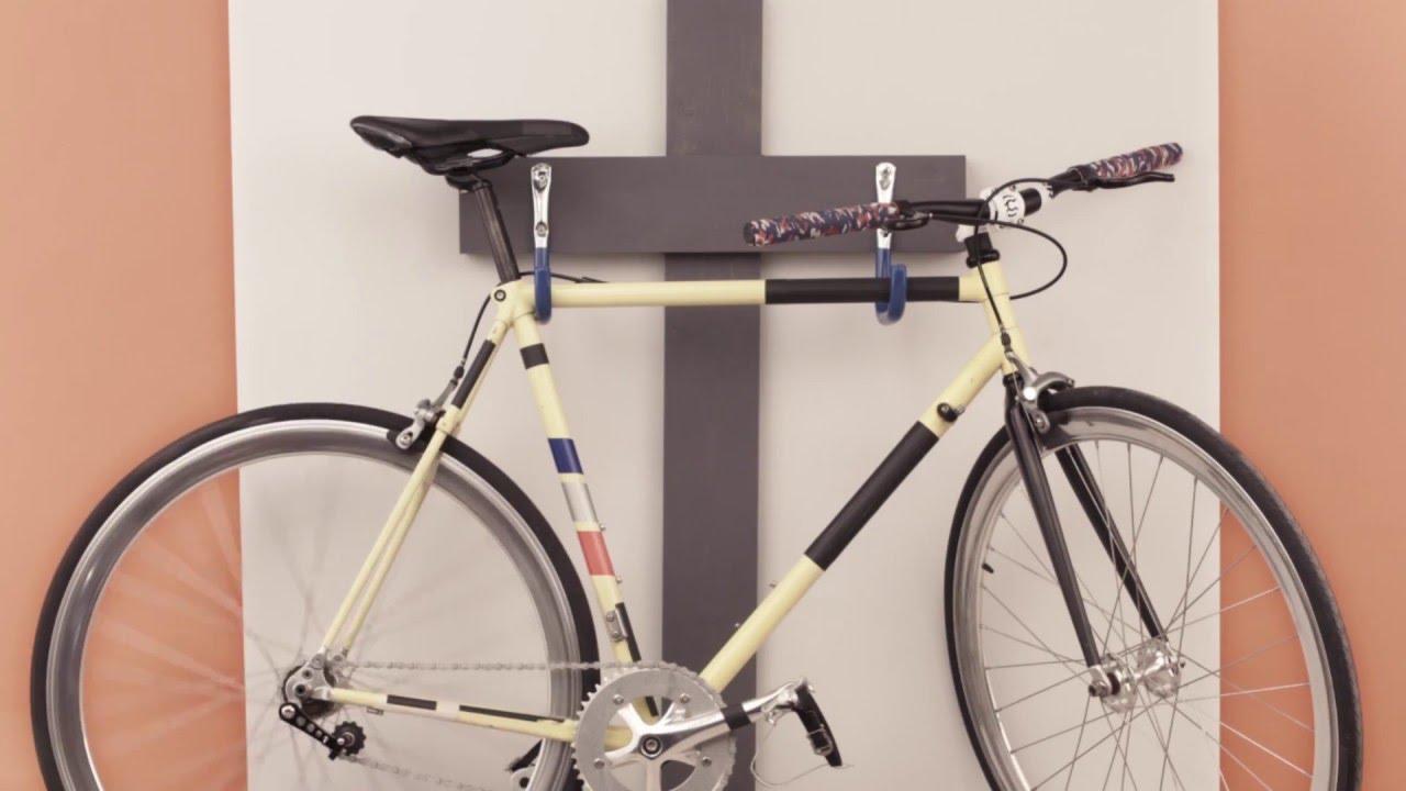 Colgar un soporte para la bici en el garaje YouTube