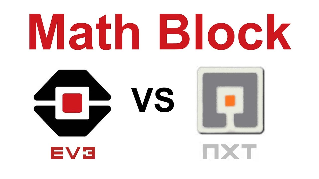 Lego EV3 vs NXT-G: Math Blocks