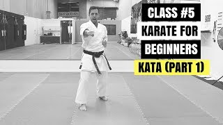 Karate for Beginners – Lesson 1 / KATA  (Part 1)