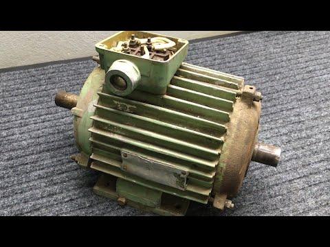 Как разобрать электродвигатель? Сколько МЕДИ он содержит?