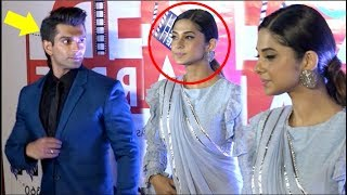 Jennifer Winget IGNORES Ex Husband Karan Singh Grover At Dada Saheb Phalke Awards