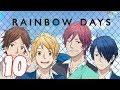 RAINBOW DAYS | 10. Bölüm - Romantizm & Okul Konulu Türkçe Anime izle
