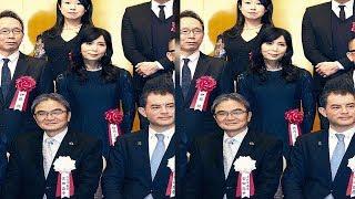 竹内まりや、黒ワンピで芸術選奨贈呈式に出席(スポーツ報知) - Yahoo!ニュース