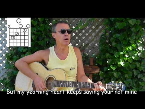 Crazy Arms with lyrics/chords - Easy Old Country Song - C82