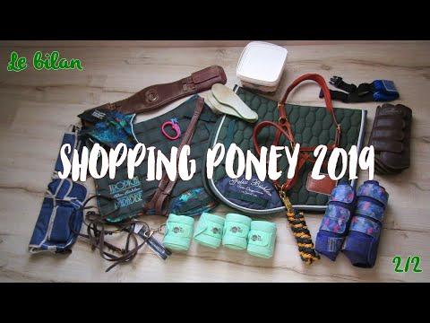 [ Haul équitation ] Bilan Shopping Poney 2019 🐴🛍️💸