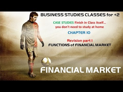 Functions of Financial Market