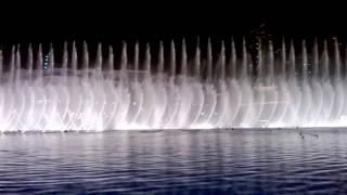 dubai fountain show on bollywood song