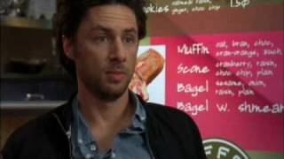 Scrubs - a classic JD and Elliot moment