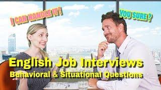 VT English   完美破解英文面試情境題 English Job Interviews: Behavioral u0026 Situational Questions