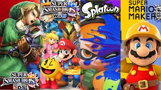 Super Mario Maker, Splatoon, Super Smash Bros. Wii U & 3DS Gameplay Livestream (2-14-16)