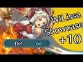 Fire Emblem Heroes : +10 Winter Lissa Showcase