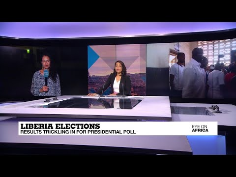 Liberia's presidential election: Results trickle in as observers give thumbs-up