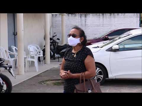 Moradores do Clima Bom protestam contra o caos na Unidade Básica de Saúde (UBS) Dr. Djalma Loureiro