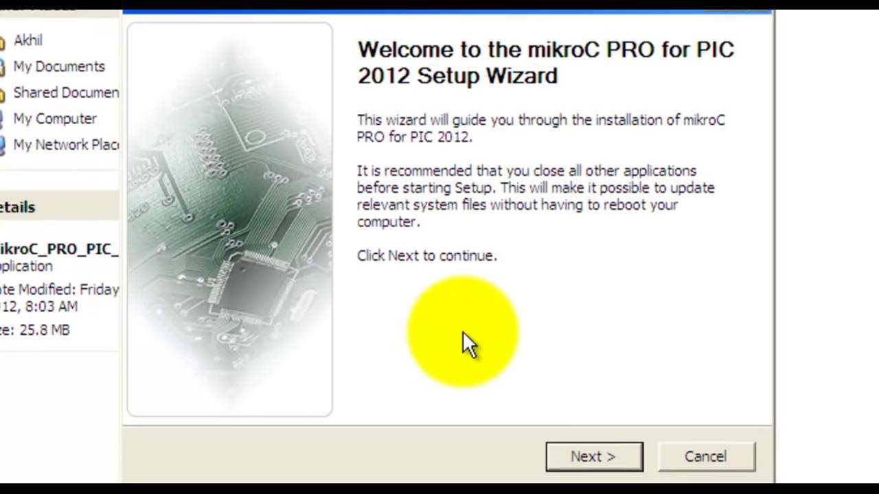 mikroc pro for pic 5.61