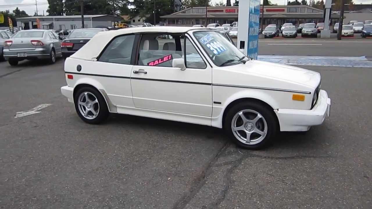 Capsule Review: 1992 VW GTI 16v 2.0