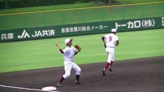 【高校野球】市伊丹シートノック『2017夏・兵庫大会4回戦』 thumbnail