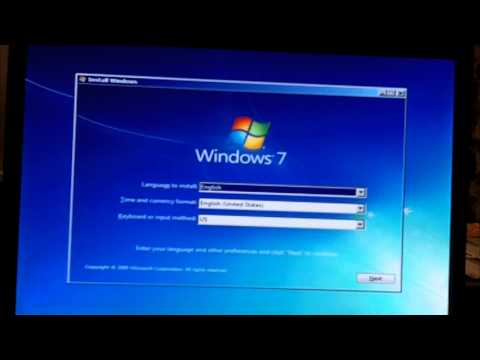 Installing Windows 7 on a PC with 512MB of RAM (under minimum system requirements)