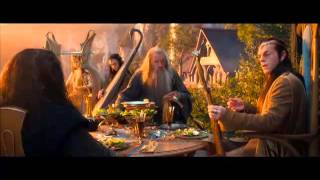 the hobbit movie scene orcrist and glamdring