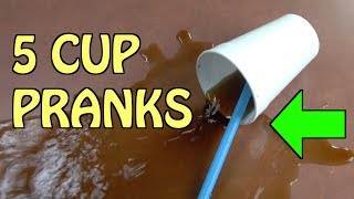 5 Cup pranks you can easily do on friends and family for April Fools' Day-( HOW TO PRANK)