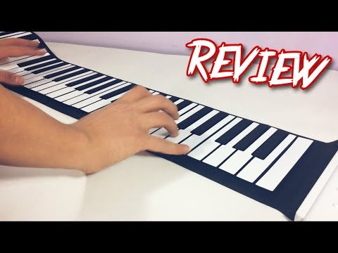 88 keys Flexible Roll up Piano Keyboard | REVIEW