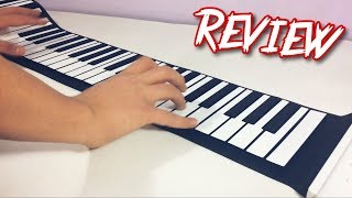 88 keys Flexible Roll up Piano Keyboard | REVIEW