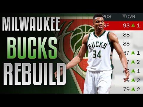 NBA 2K17 MyLeague: Rebuilding The Milwaukee Bucks    THE GREEK FREAK IS A GOD!!!