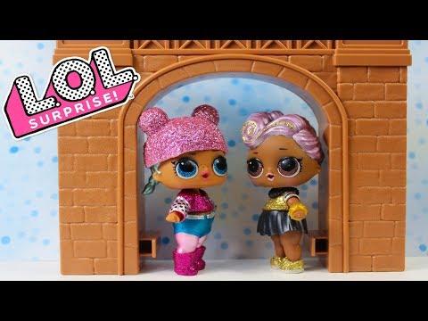 Куклы ЛОЛ Распаковка Блестящий #ЛОЛ Сюрприз Мультики для детей Игрушки LOL Surprise GLAM GLITTER