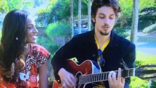 Chay cantando Falso Brilhante no vídeo show 24/07/2014