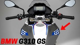 NEW 2017 BMW G310 GS - A Affordable New Models and New Technologies