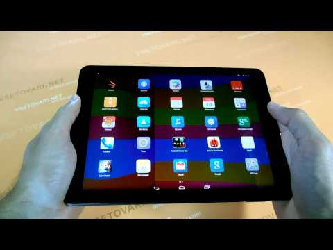 Cube talk 9x видео обзор почти копии iPad Air с звонилкой купить в Украине