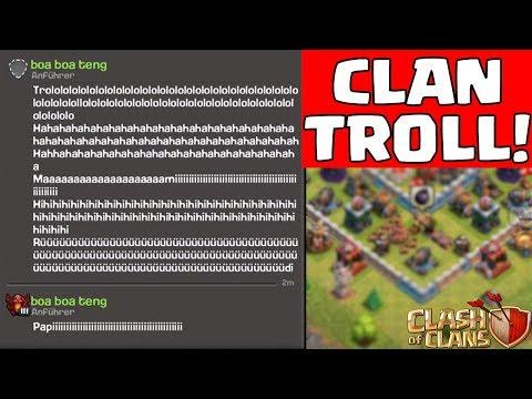 EIGENEN CLAN TROLLEN MIT FALSCHEM NAMEN! ☆ Clash of Clans ☆ CoC