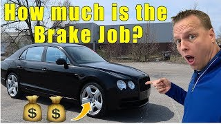 Guy sells us his $230,000 Bentley Flying Spur.