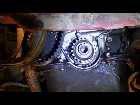 Timing belt replacement 1988 1995 honda civic 1 5l 4 for Honda civic timing belt replacement