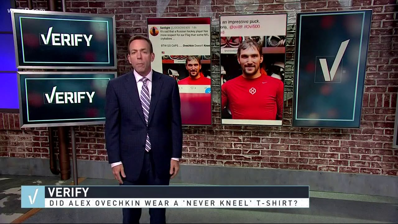 3943f8070 VERIFY: Is Ovi's 'Never Kneel' shirt real? - YouTube