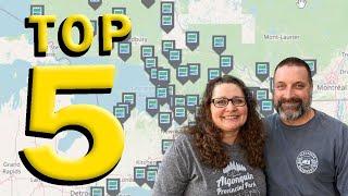 Top 5 Ontario Provİncial Parks