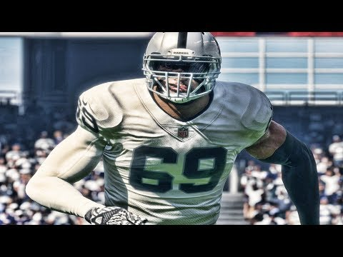 MY NFL DEBUT FOR THE OAKLAND RAIDERS | MADDEN 18 CAREER MODE EPISODE 2