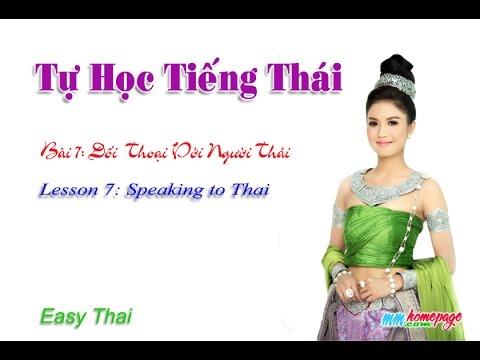 Giáo trình Thai for beginners bài 7