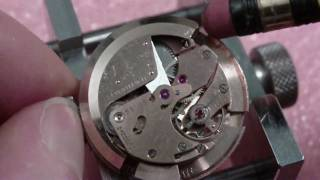 Tissot automatic wrist watch movement, bumper