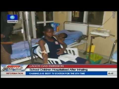 Lagos Gas Emission: School Children Hospitalised After Inhaling