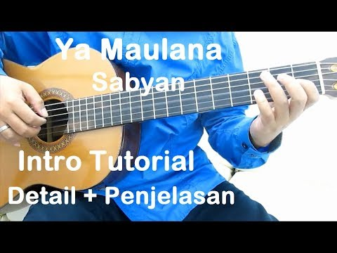 Belajar Gitar Ya Maulana Sabyan (Intro) - Detail + Penjelasan
