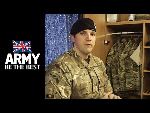 How to organize your locker - Squared Away - Army Jobs