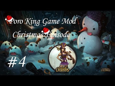 Poro King Mod with Caitlyn Gameplay