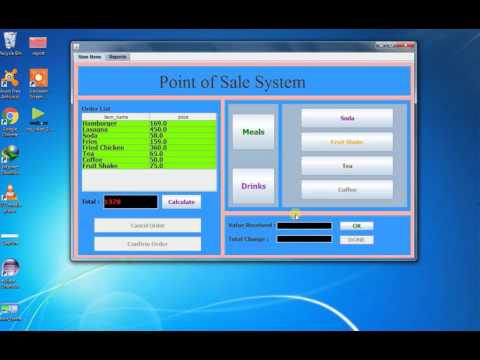 Point Of Sales  JAVA ECLIPSE