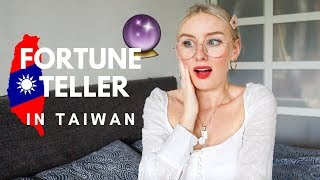 MY SHOCKING FORTUNE TELLER EXPERIENCE IN TAIPEI! *storytime*
