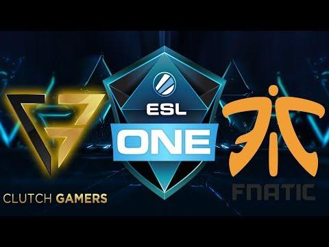 🔴Clutch vs Fnatic - ESL One Hamburg 2017 - Dota 2 Live Streams