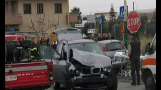 Incidente a Locri: un morto - IL VIDEO