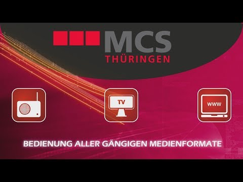 Die MCS GmbH Thüringen stellt sich vor