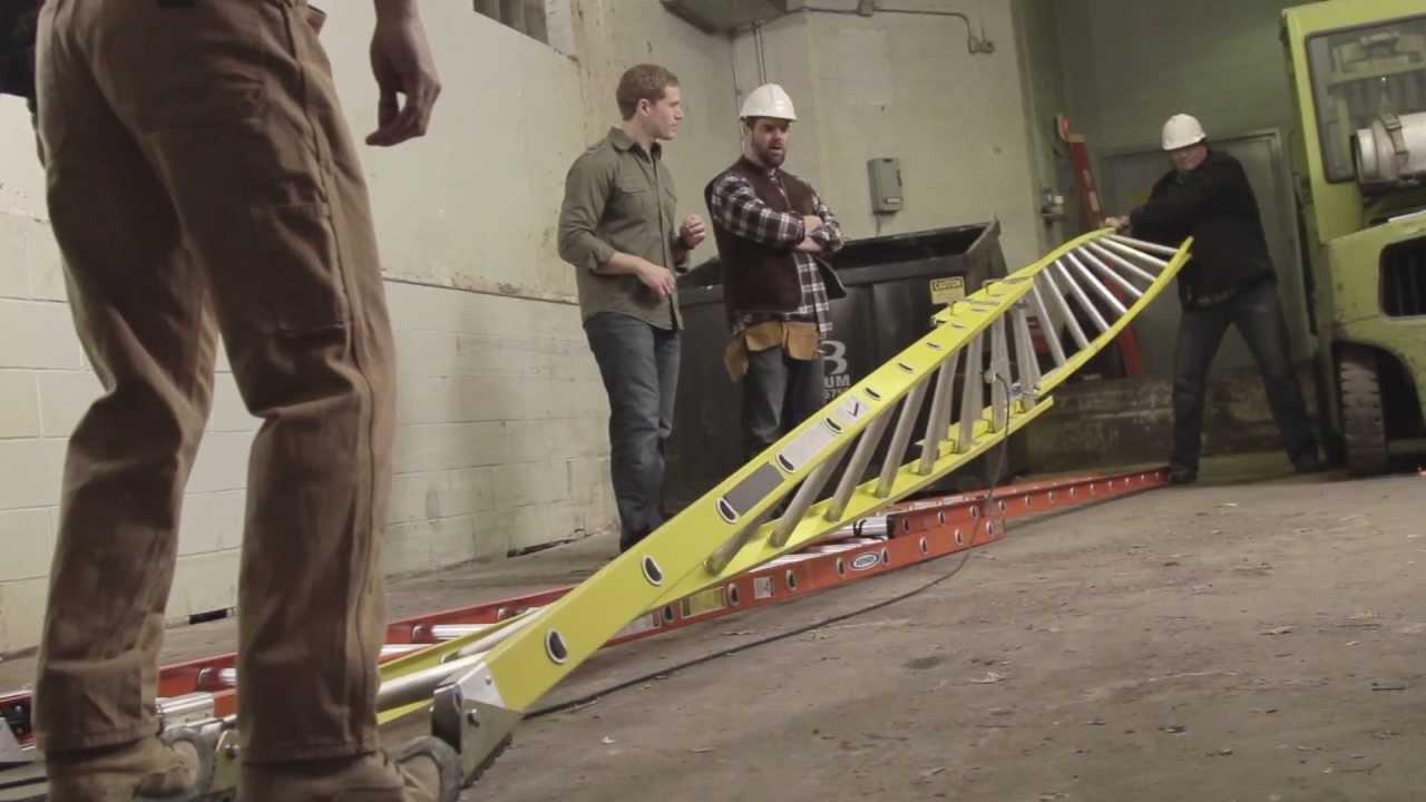 Werner Ladder  Head To Head Extension Ladder Challenge